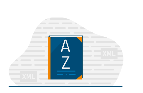 A-Z e-invoicing glossary illustration